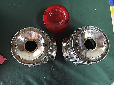 1961 Plymouth Taillight Bezels and Lens