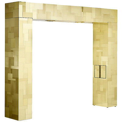 Illuminated Cityscape Headboard by Paul Evans for Directional
