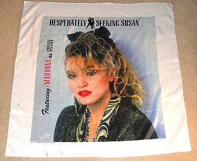 "1985 Madonna Desperately Seeking---Large 45"" X 46"" Banner!!!!---Large!!!!"