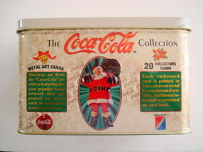 1994 Coca Cola Factory Sealed Tins Lot Of (2)