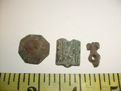 Ancient Roman Bronze Military Amunitions Parts