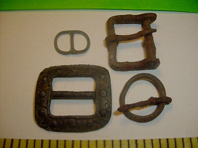 Antique Medieval Buckles Roman