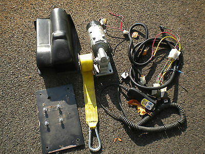 1262 Parvalux electric winch for  wheelchair / Scooter, Complete  Used