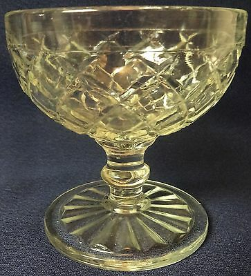 Waterford Crystal Sherbet Set of 3 Hocking Glass Company