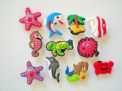 Jibbitz Croc Clog Shoe Plug Button Charm For WristBand Accessories Sea Animal
