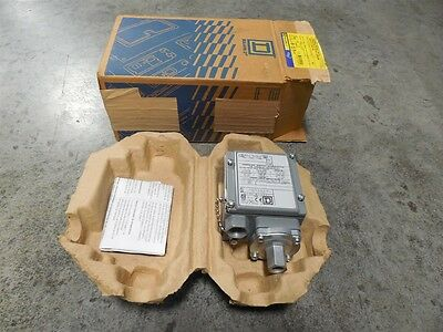 NEW Square D 9012 GAW-2 Pressure Switch Series C 1-40 PSIG