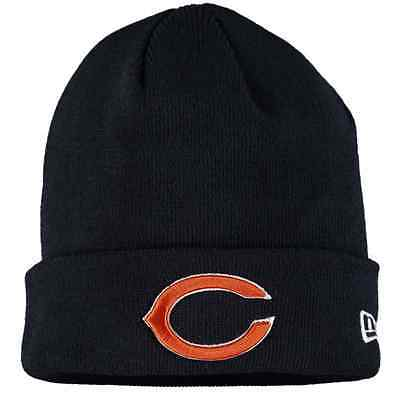 Chicago Bears New Era 2016 NFL Solid Cuffed Knit Hat