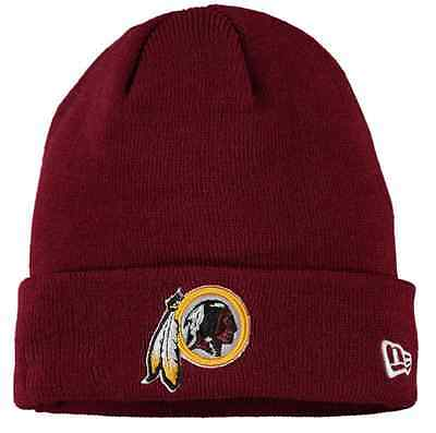 Washington Redskins New Era 2016 NFL Solid Cuffed Knit Hat