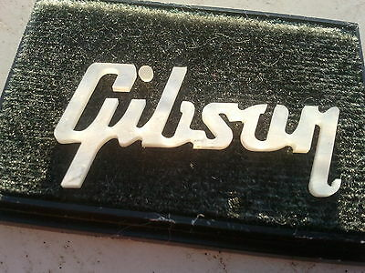 Gibson Les Paul Inserto Logo Gibson Madre Perla MOP Mother-of-Pearl