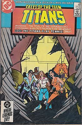 Tales Of The Teen Titans #53 Dc 1985