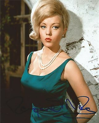 Margaret Nolan Genuine Signed The Saint 10x8 Photo With Proof