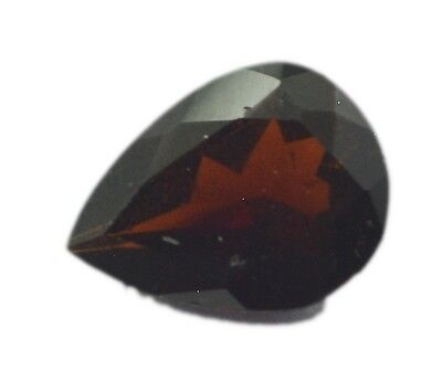 Red Pear Faceted Garnet gems 6X8 1 pc US