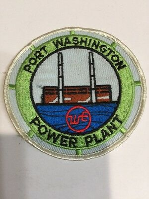 Port Washington Wisconsin Electric Power Plant Patch. Unused.