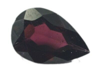 Red Pear Faceted Garnet gems 8X12 1 pc US