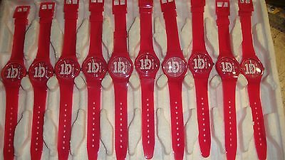 TRADE JOB LOT OF 10 X NEW  One Direction PINK Strap  Watch. beat this ?