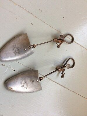 Pair VINTAGE SHOE TREES - Abbott's Phit Perfect - 4x5 M - USE DISPLAY