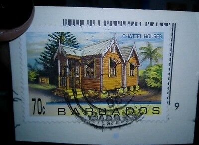 Used Stamp Barbados Chattel Houses