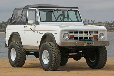 1969 Ford Bronco V8 SUV 1969 Ford Bronco 302 V8 4 Speed Runs Great NO RUST WEST TEXAS VEHICLE CLEAN