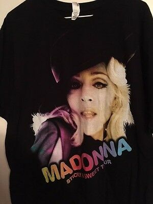 Madonna Sticky and Sweet 2008 Tour concert T-shirt