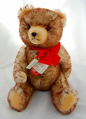 Teddy Hermann Original Bear Frosted Mohair Jointed Collecctor LE  West Germany
