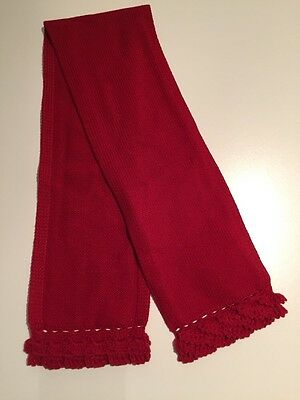 Mayoral Red Girls Scarf 88cm Long New Without Tags