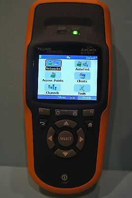 New Fluke Networks AirCheck WiFi Tester