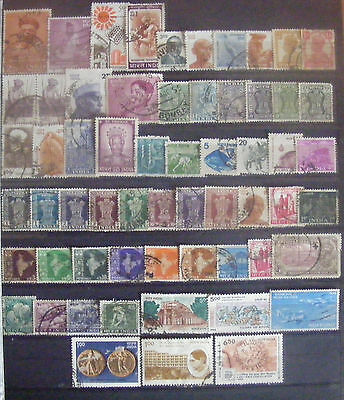 B001 - India - 60 timbres