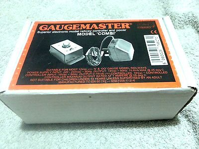 Gaugemaster Model Combi Single Track Controller Transformer Oo/n New Never Used