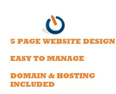 5 Page Website | Web Page | Web Design | Personal | Business | Domain / Hosting
