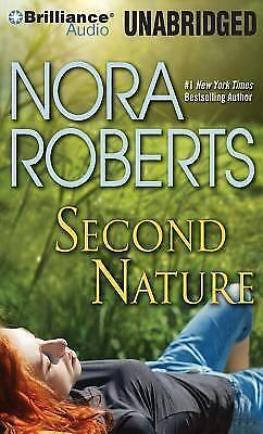 SECOND NATURE unabridged audio book on CD by NORA ROBERTS
