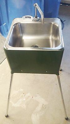 Command Air Portable Field Sink ADU-40CF Aseptico USA 120/230VAC 13A 50/60Hz NEW