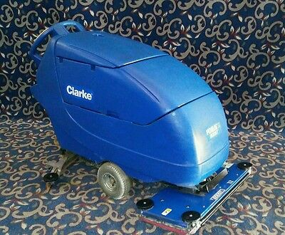 "Clarke Focus Boost 32"" vibrating floor scrubber with FREE shipping"