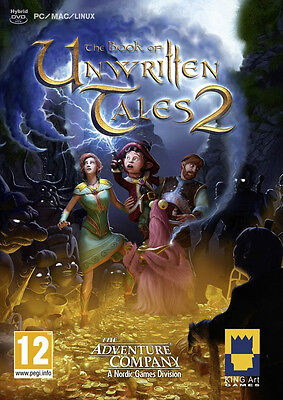 Book of Unwritten Tales 2 New PC Game, English