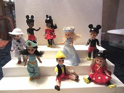 2004 Mcdonald's Madame Alexander. Disney Doll Comp. Set Of 8  Vg To Excel. Cond.