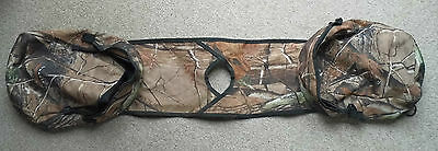 Unusual Genuine British Army Issue ATV Quad Tank Pannier Carry Pouch In Realtree