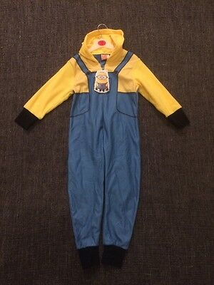 Minion Onsie for child aged 5-6 Bnwt