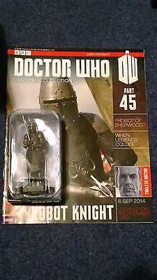 Eaglemoss doctor who figurine collection - Issue 45: ROBOT KNIGHT