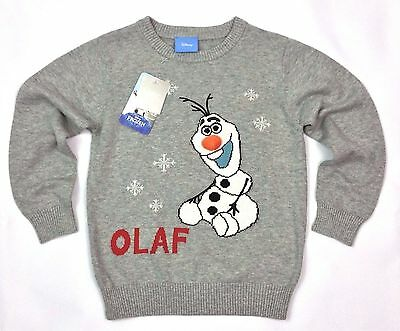 Girls NEXT OLAF From FROZEN Christmas XMAS Jumper 4-5, 5-6, 6-7 Years BNWT