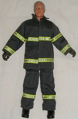 M & C Toy Centre Ltd - Ken Style Doll In Firefighter/rescue Outfit- Boots/gloves