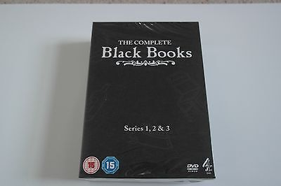 The Complete Black Books DVD Boxset, Series 1, 2 & 3 Brand New in Wrapping