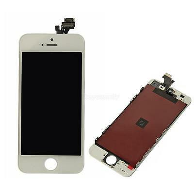 Replacement LCD Touch Screen Display Digitizer Assembly for iPhone 5 White+Tools