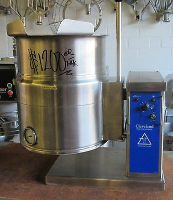 Cleveland Range KET-6T  6 Gallon Countertop Steam Jacketed Tilt Kettle