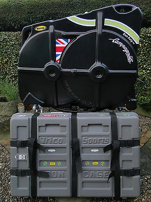 Bike Box Alan/trico Hard Cycle Case/travel Case Hire/rental West Yorkshire