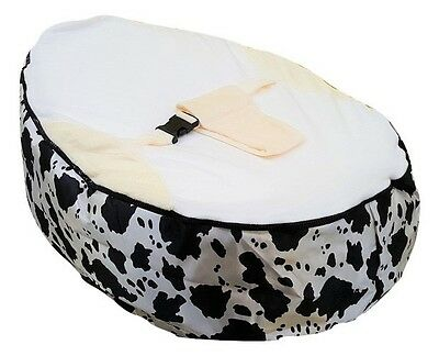 Cow Print Baby Bean Bag with Filling-UK Seller