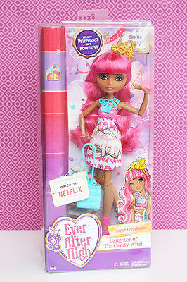 Ever After High, Book Party, Ginger Breadhouse, puppe,doll ,neu,new