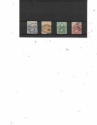 Bolivia #   20-23,  (Set)  Used   Stamps Beautiful Coloring