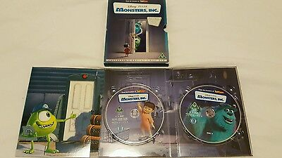 Monsters inc dvd