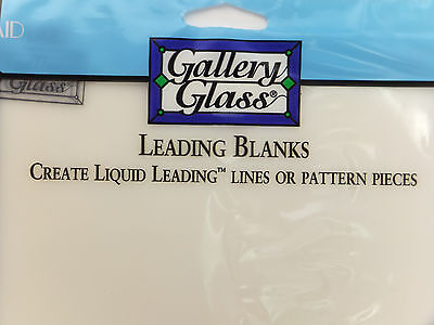 Gallery Glass Leading Blanks 3 Pk 8x10