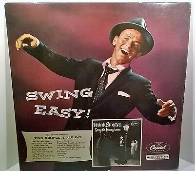 Frank Sinatra Swing Easy & Songs For Young Lovers Vinyl LP Album 1955 Capitol