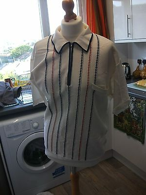 mens 1960 vintage shirt Medium northern soul?